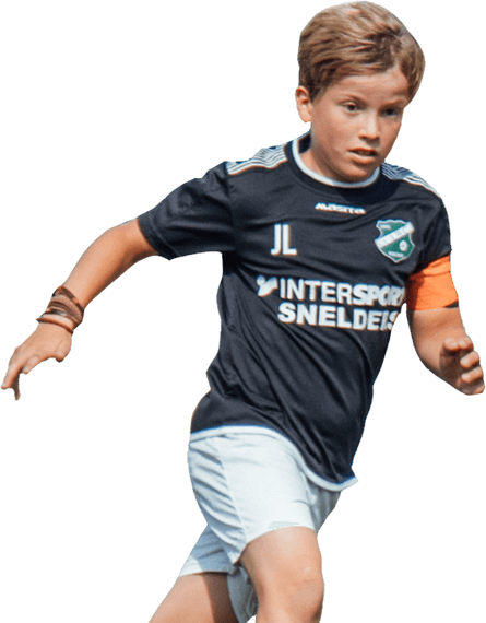 AWC - voetbal kind