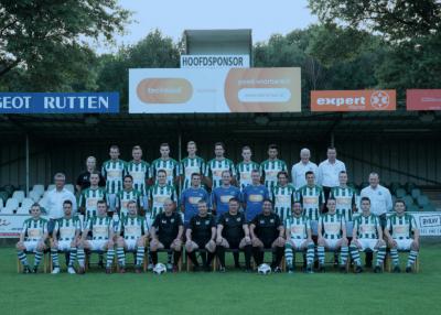 AWC Eerste Elftal teamfoto